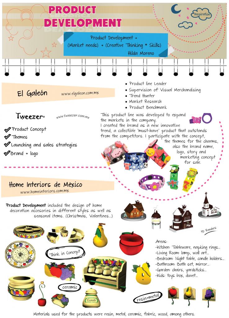 CV - Product Development - Hilda Moreno
